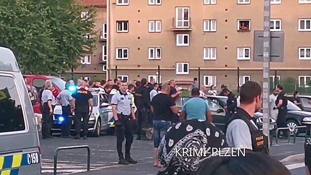 Za sokolovskou rvačkou stáli fotbaloví hooligans