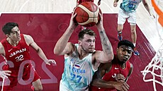 Slovinští basketbalisté zdolali i Japonsko a jsou v Tokiu ve čtvrtfinále