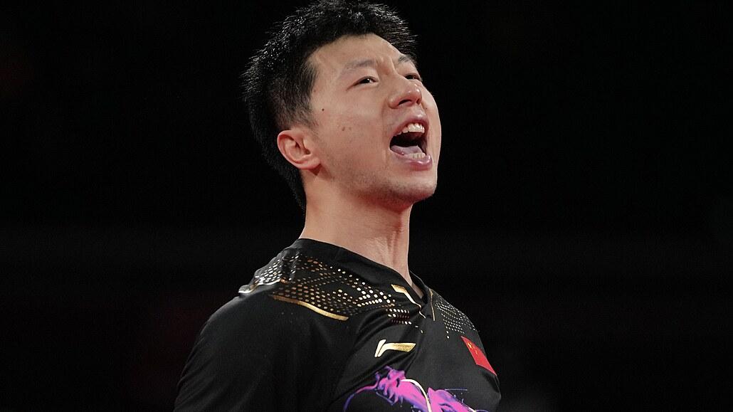 Stolní tenista Ma Lung obhájil v čínské bitvě olympijské zlato