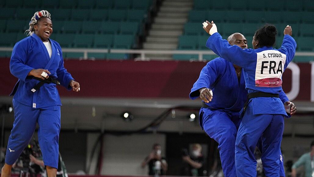Francouzští judisté ovládli premiéru týmové soutěže, Riner má třetí zlatou