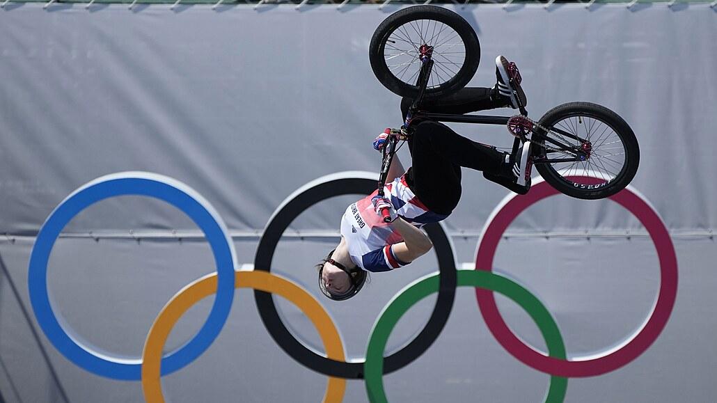 Prvními olympijskými vítězi ve freestyle BMX jsou Martin a Worthingtonová