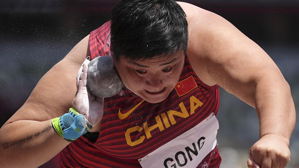 Silným ženám s koulí vládla Kung Li-ťiao a slaví první olympijské zlato