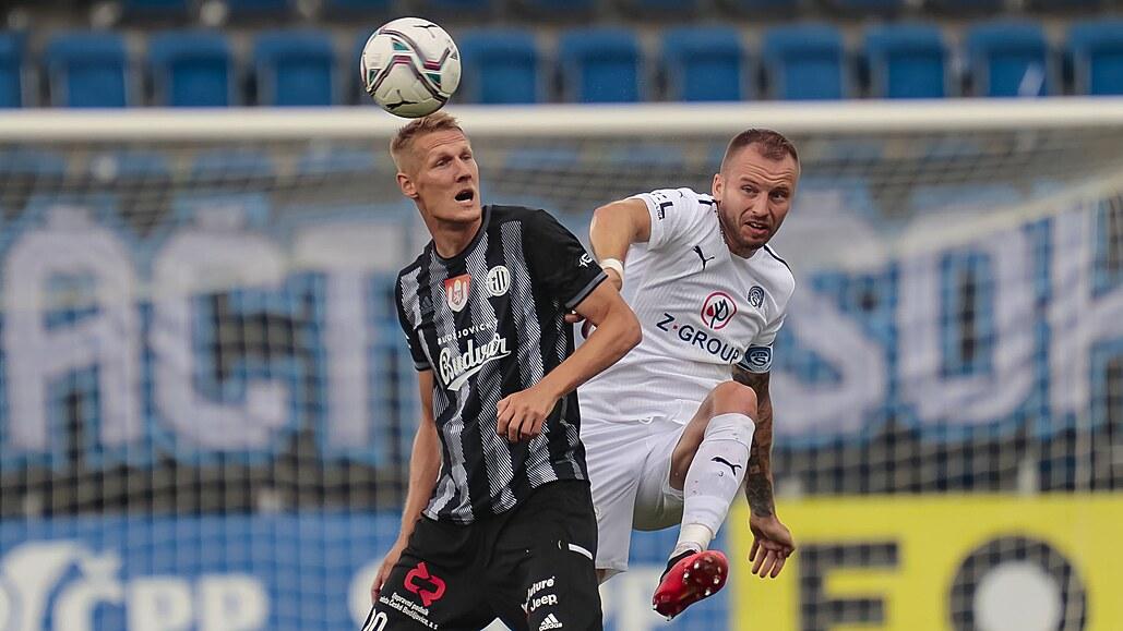 Slovácko - Č. Budějovice 1:0, rozhodl Kohút, v závěru se domácí báli