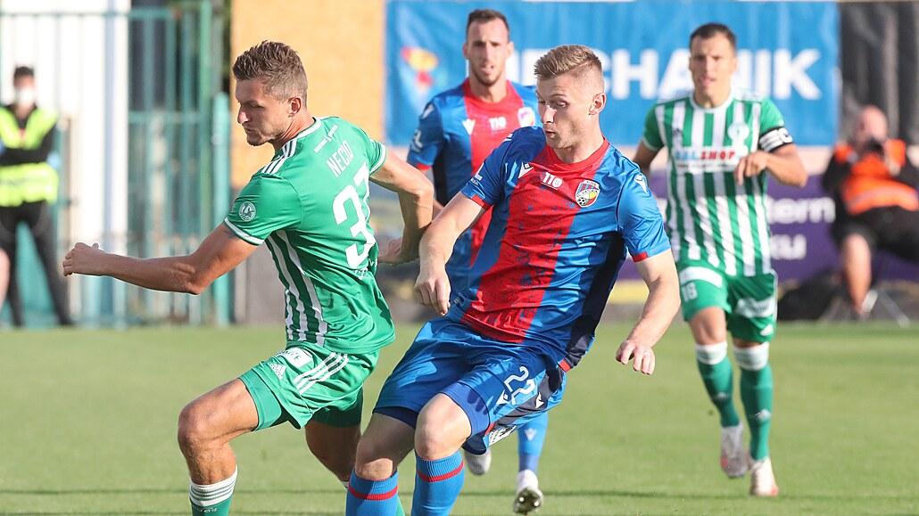Bohemians - Plzeň 1:2, dvě penalty, hosté otočili po půli, rozhodl Káčer