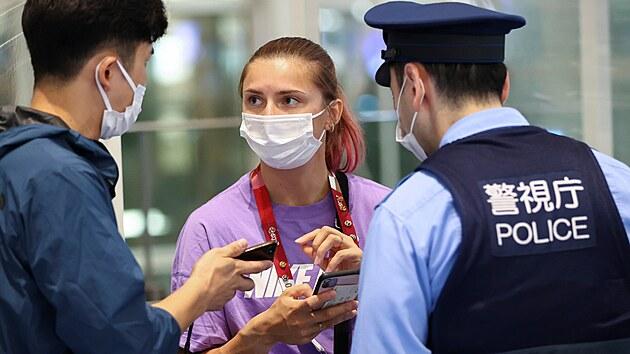 Běloruská olympionička zůstala v Tokiu. Zamířila na polskou ambasádu