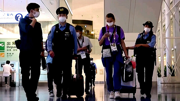 Běloruskou sportovkyni nutili, aby se vrátila z Tokia. Nesměla závodit