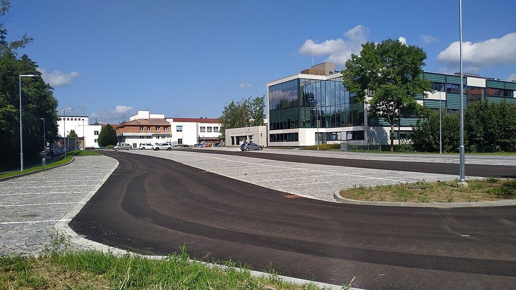O záchytné parkoviště v Brodě není zájem, plocha je po celé dny prázdná