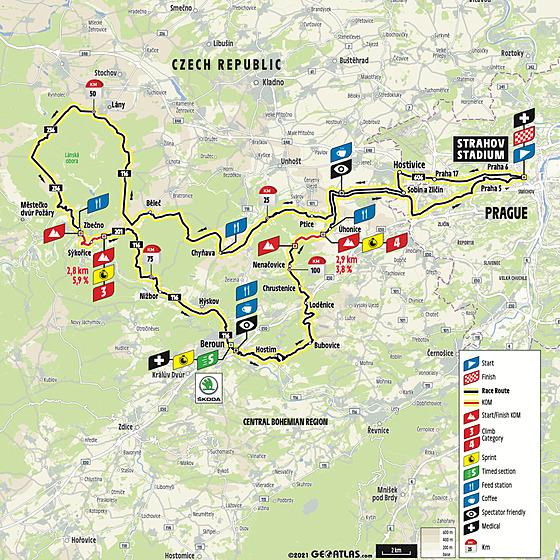 Dlouhá trasa L'Etape Czech republic by Tour de France