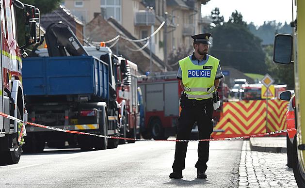 Dva dobrovolní hasiči zahynuli při výbuchu v Koryčanech. Do domu přijeli řešit únik plynu