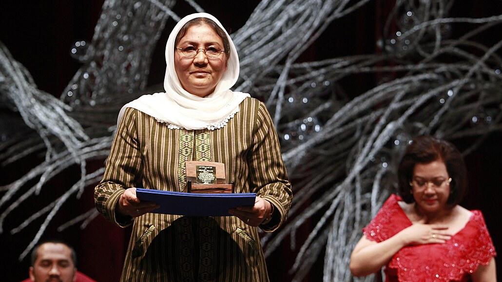 Odchod Američanů byl nezodpovědný omyl, říká afghánská bojovnice za práva žen