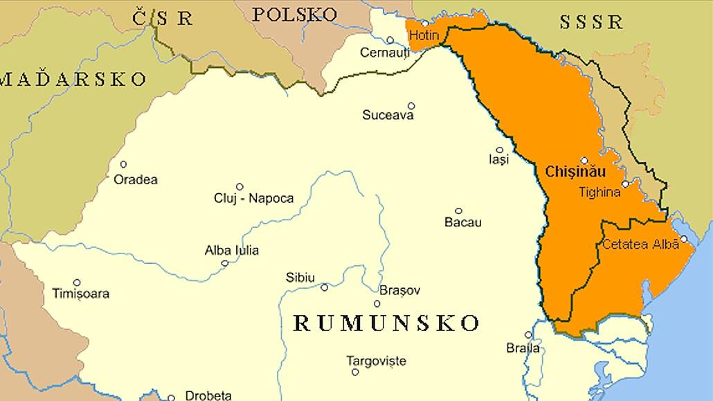 Bolševici se před 100 lety přetahovali s Rumunskem o Besarábii