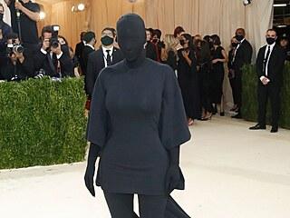 Kim Kardashianová na Met Gala (New York, 13. září 2021)