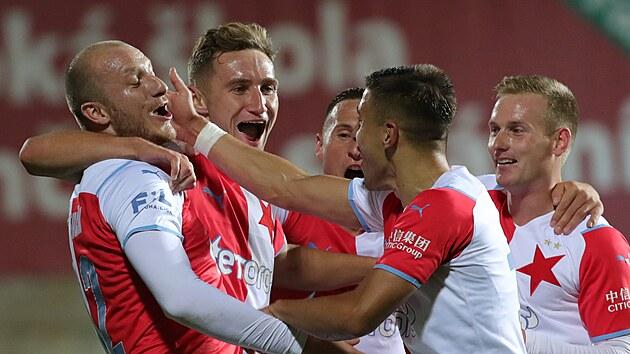 Krmenčík o prvním gólu za Slavii: Nico mi balon s radostí přenechal