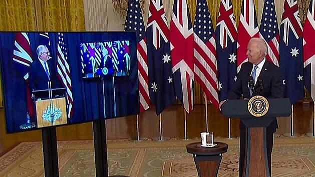 """""""Ten chlapík od protinožců."""" Biden zapomněl jméno australského premiéra"""