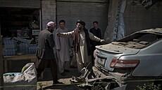 Další útok v afghánském Dželálábádu, bomba usmrtila pět lidí. Terčem byl opět vůz Tálibánu