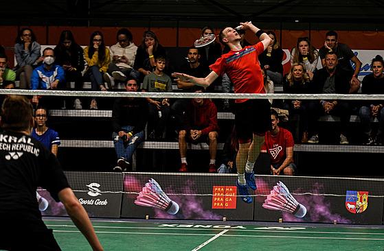 Jan Louda ve finále českého šampionátu proti Jiřímu Královi