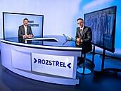 Hostem pořadu Rozstřel a moderátora Vladimíra Vokála v rámci předvolební série...