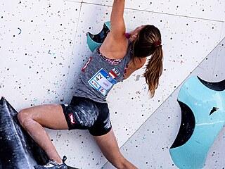 Nevhodné záběry v přenosu se po sobotním semifinále boulderingu na mistrovství...