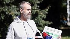 Po volbách má vyjít kniha o Šlachtovi. Je to spiknutí ANO a SPD, myslí si šéf Přísahy