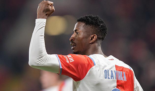 ONLINE: Slavia – Olomouc 1:0 po půli, gól dal Olayinka, domácí pálí šance