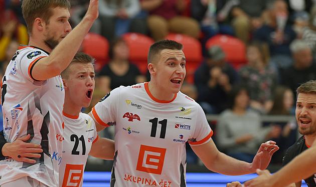 Volejbalisté Karlovarska si zahrají o skupinovou fázi Ligy mistrů