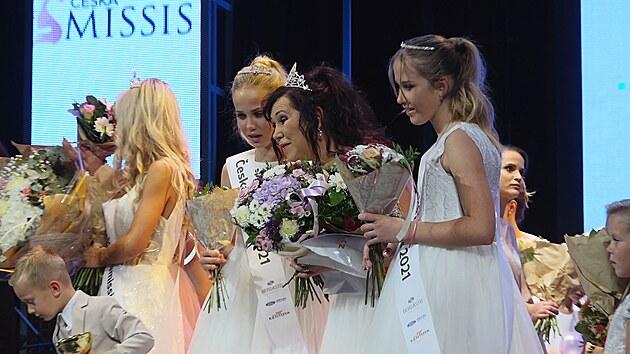 Českou Missis 2021 se stala matka s devíti dětmi