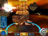 Treasure Planet: Battle at Procyon - screenshoty