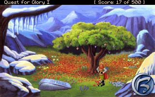 Heros Quest/Quest for Glory I, Sierra 1989, VGA verze