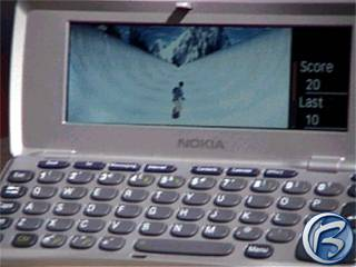 Nokia Virtua Board Snowboarding na Nokia 9210 Communicator
