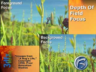 3dfx VSA-100 Depth of Field