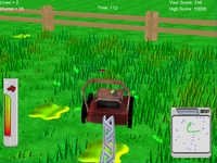 Virtual Lawn Mower