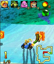 Crash Nitro Cart