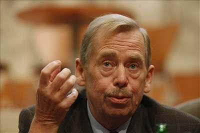 Havel přednášel ekonomům