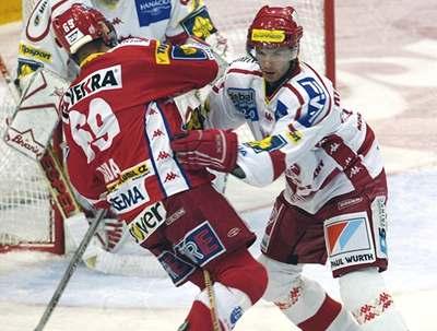 Hokejová Slavie počtvrté prohrála