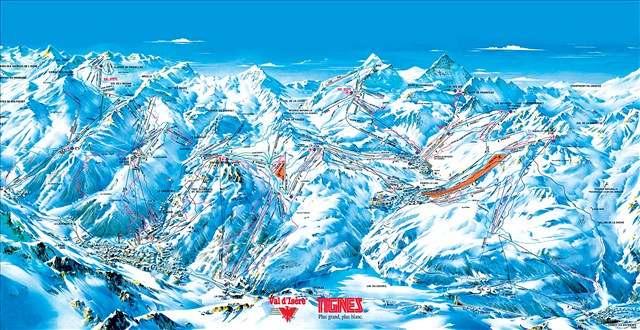 4. DÍL: Tignes: lyžování nejen na ledovci