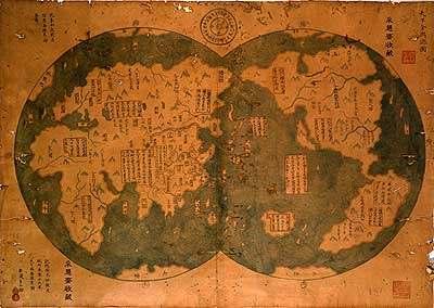 Kdo objevil Ameriku? Číňan?