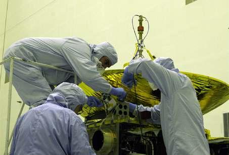 Sonda k Plutu nevyrazila, nešla elektřina