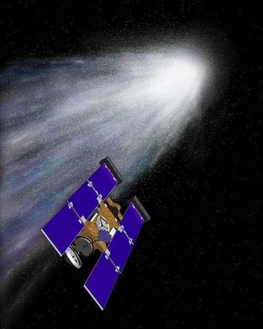 Sonda Stardust přivezla kosmický prach