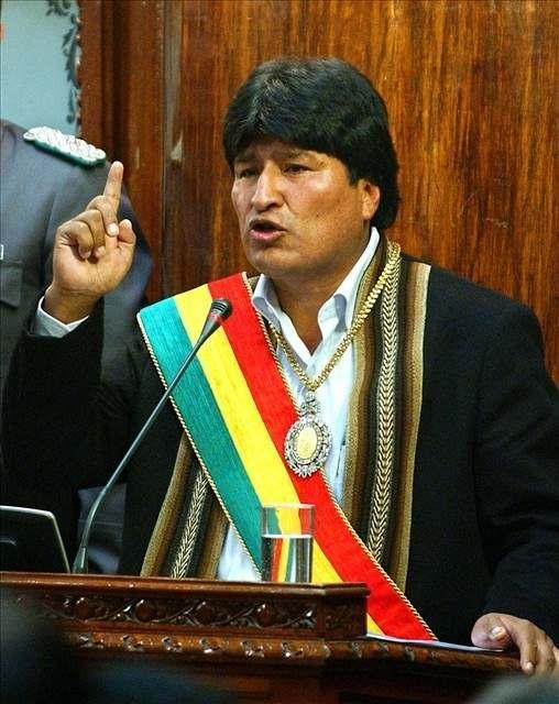 Morales obsadil ložiska bolivijského plynu