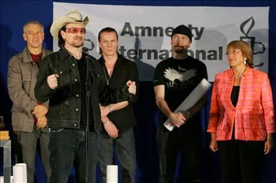 U2 získali titul Velvyslanci svědomí