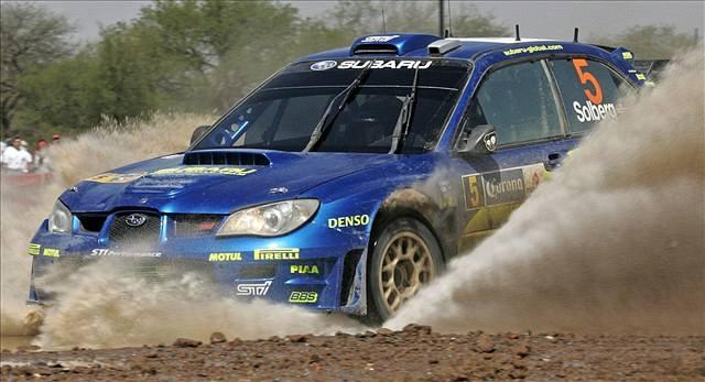 Mexickou rallye vyhrál Francouz Loeb