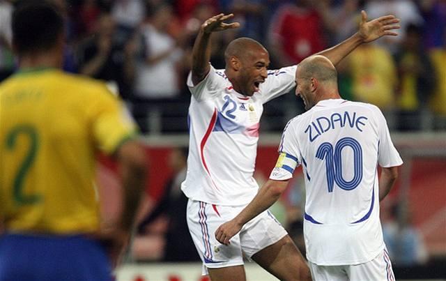 Henryho gól vyřadil Brazílii