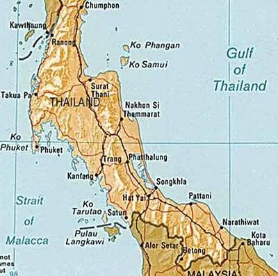 Pumové útoky v jižním Thajsku zabily čtyři lidi