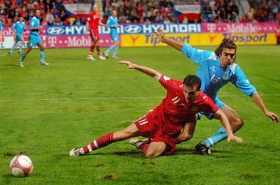 Češi porazili San Marino 7:0
