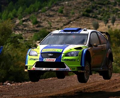Grönholm vyhrál Tureckou rallye