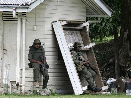 Armáda na Fidži chystá převrat