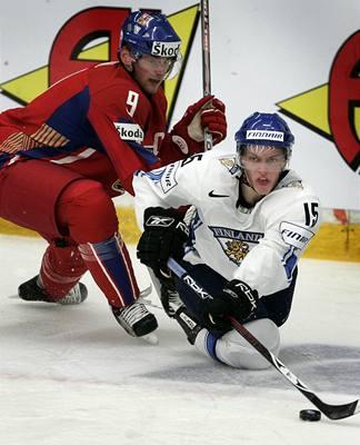 Hokejová dvacítka prohrála s Finskem