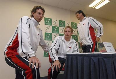 Čeští tenisté v baráži narazí na Švýcary