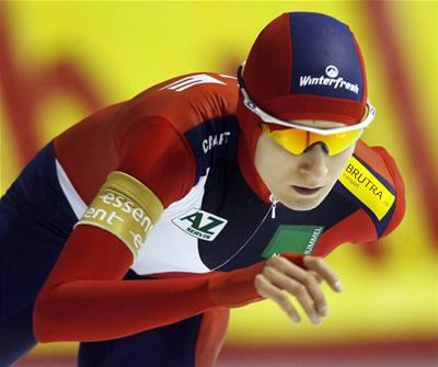 Sáblíková trhla světový rekord a má zlato!