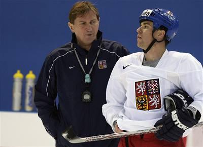 Hokejisté mají za sebou první trénink v Rusku